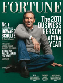 2011 BUSINESS PERSON OF THE YEAR - HOWARD SCHULTZ