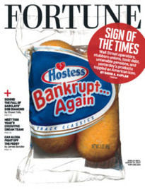 HOSTESS IS BANKRUPT...AGAIN