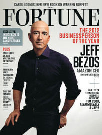 THE 2012 BUSINESSPERSON OF THE YEAR JEFF BEZOS