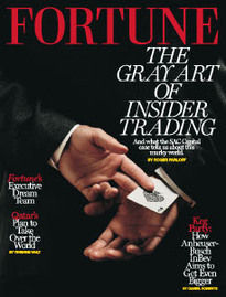 THE GRAY ART OF INSIDER TRADING