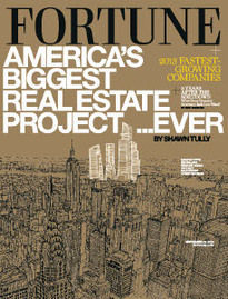 AMERICA'S BIGGEST REAL ESTATE PROJECT EVER