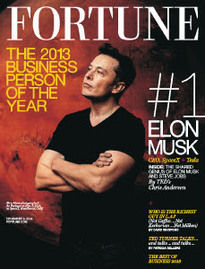 BUSINESS PERSON OF THE YEAR ELON MUSK