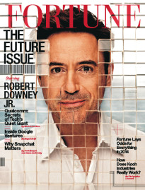 THE FUTURE ISSUE ROBERT DOWNEY JR.