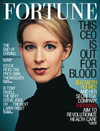 THIS CEO IS OUT FOR BLOOD ELIZABETH HOLMES