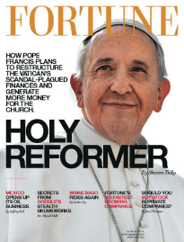 HOLY REFORMER POPE FRANCIS