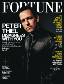 PETER THIEL DISAGREES WITH YOU