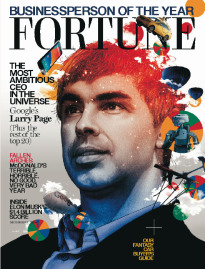 BUSINESSPERSON OF THE YEAR GOOGLE'S LARRY PAGE