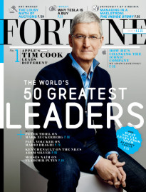 THE WORLD'S 50 GREATEST LEADERS TIM COOK