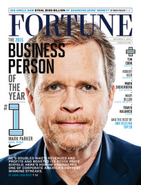 THE 2015 BUSINESS PERSON OF THE YEAR - MARK PARKER