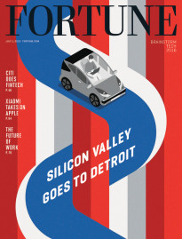 SILICON VALLEY GOES TO DETROIT