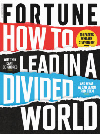 HOW TO LEAD IN A DIVIDED WORLD