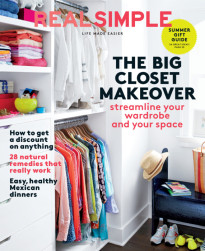 THE BIG CLOSET MAKEOVER