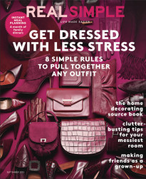 GET DRESSED WITH LESS STRESS