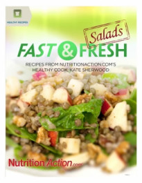 Healthy Recipes. Fast And Fresh Salads