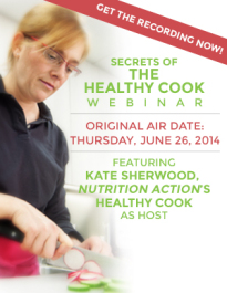 Secrets Of The Healthy Cook Webinar Recording Only