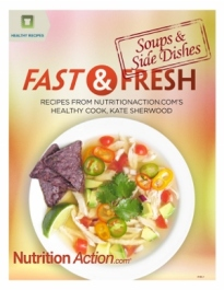 Healthy Recipes. Fast And Fresh Soups And Side Dishes