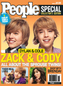 PEOPLE ZACH AND CODY SPECIAL ISSUE