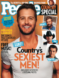COUNTRY'S SEXIEST MEN! LUKE BRYAN