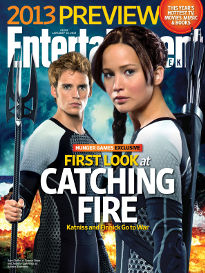 2013 PREVIEW:FEATURING FIRST LOOK AT CATCHING FIRE