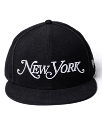 Black New Era Snapback Hat
