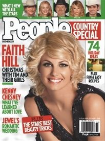 PEOPLE COUNTRY SPECIAL NOV 2008 FAITH HILL