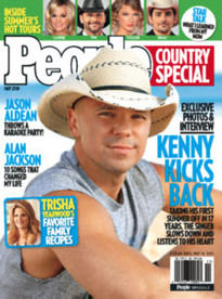 PEOPLE COUNTRY SPECIAL MAY 2010 KENNY CHESNEY