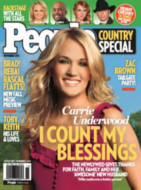 PEOPLE COUNTRY SPECIAL CARRIE UNDERWOOD
