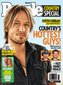 PEOPLE COUNTRY SPECIAL MAY 2011 KEITH URBAN