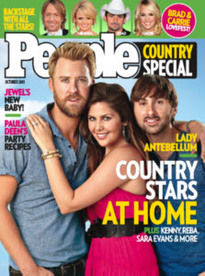 PEOPLE COUNTRY SPECIAL OCT 2011 LADY ANTEBELLUM