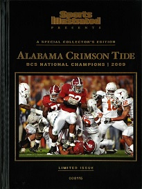 SI PRESENTS: ALABAMA CRIMSON TIDE 2009 CHAMPIONS