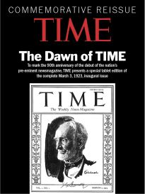 TIME COMMEMORATIVE REISSUE: 90TH ANNIVERSARY ISSUE