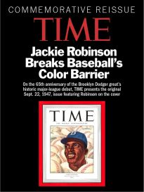 TIME COMMEMORATIVE REISSUE: JACKIE ROBINSON