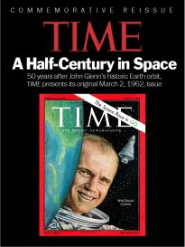 TIME COMMEMORATIVE REISSUE: A HALF-CENTURY IN SPACE