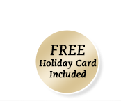Free Holiday Card Included