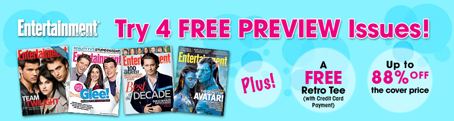 Try 4 Free Preview Issues. Plus, Get a FREE RETRO TEE!