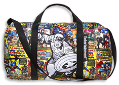 Free Marvel Duffle Bag With Entertainment Weekly Subscription