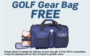 GOLF Gear Bag FREE
