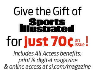 Give the Gift of SPORTS ILLUSTRATED for just 70¢ an issue!