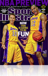 Sports Illustrated NBA Preview cover
