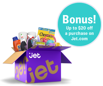 Bonus! Up to $20 JetCash