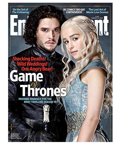 Game of Thrones Daenerys & Jon Snow March 22, 2013