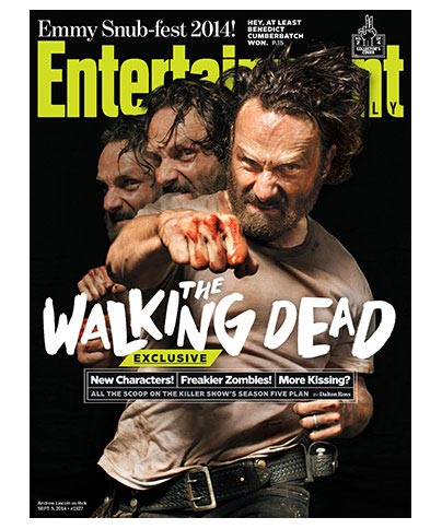 Walking Dead - Rick Sept 5, 2014