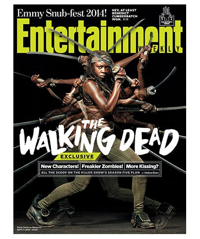 Walking Dead - Michonne Sept 5, 2014