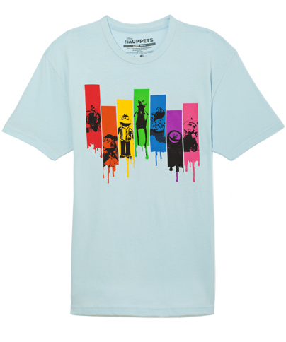 Muppets Paintbow Connection Tee